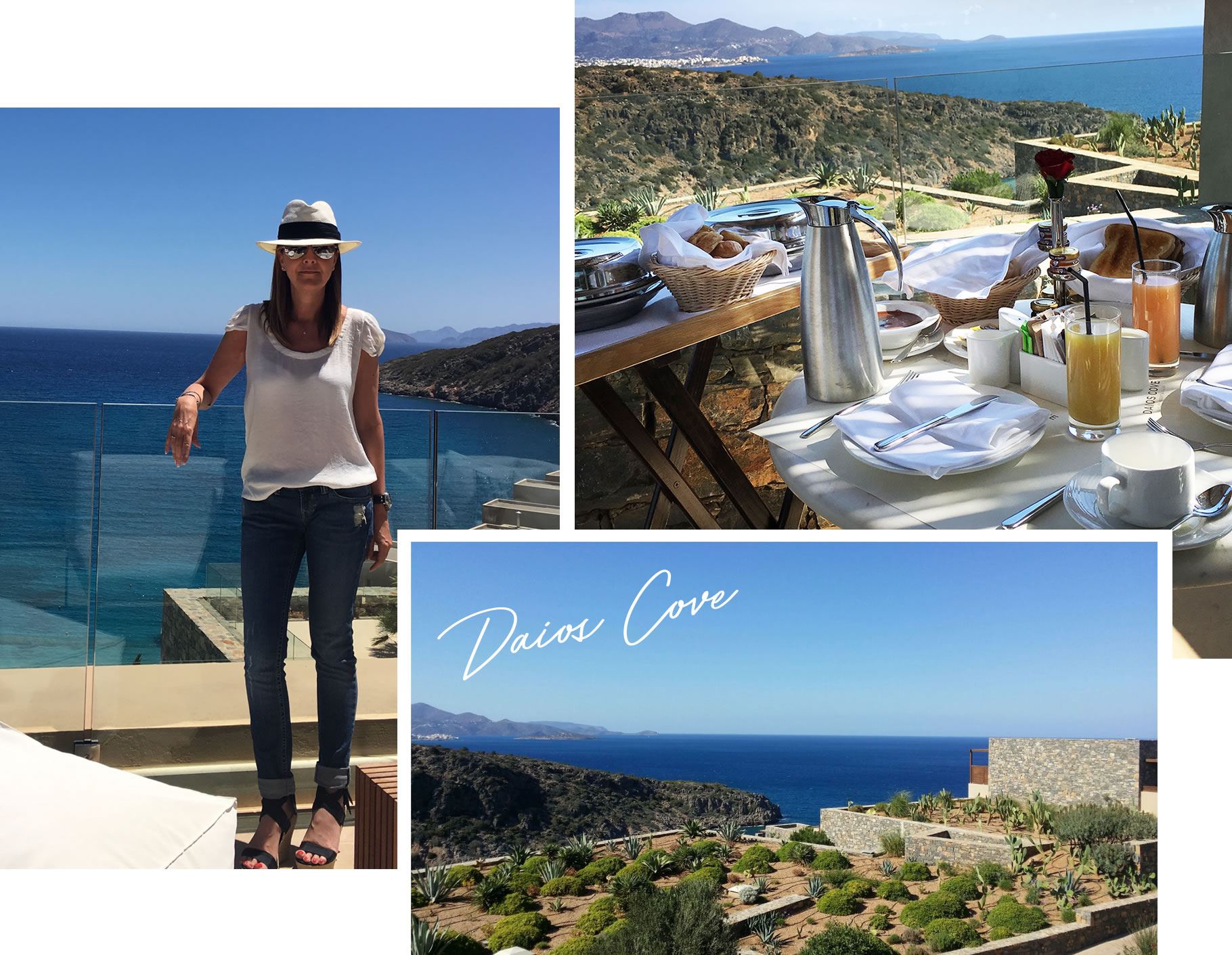 Daios Cove Crete - Breakfast and views