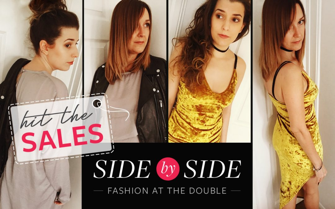 Side by Side - Dawn and Emilie hit the sales