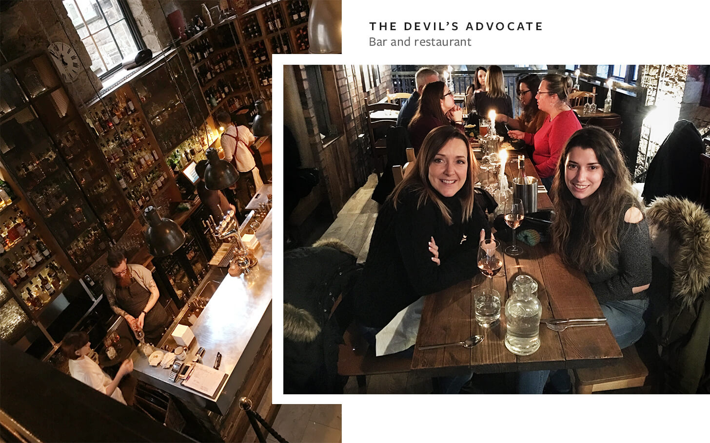 The Devil's Advocate, Edinburgh