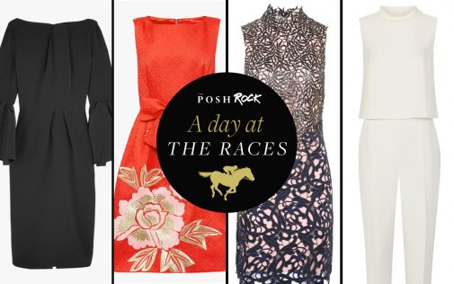 A day at the races – Posh Rock styles it four ways