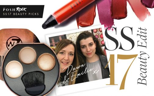 The SS17 Beauty Edit: The SS17 Beauty Edit: Posh Rock's picks