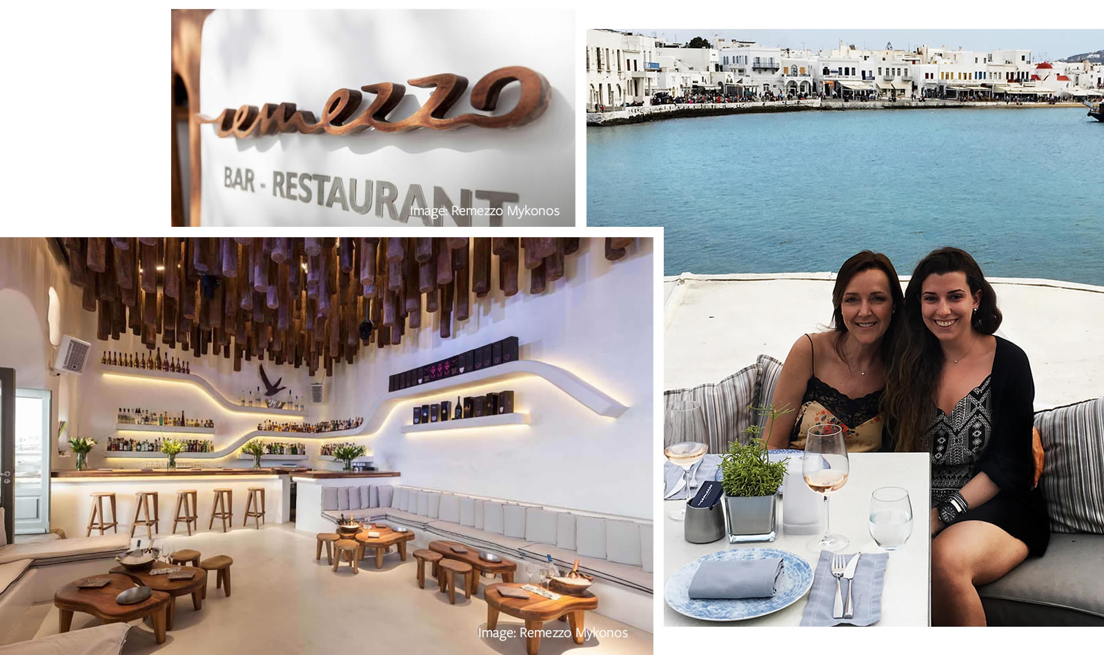 Ten days in Mykonos - Remezzo Bar Restaurant