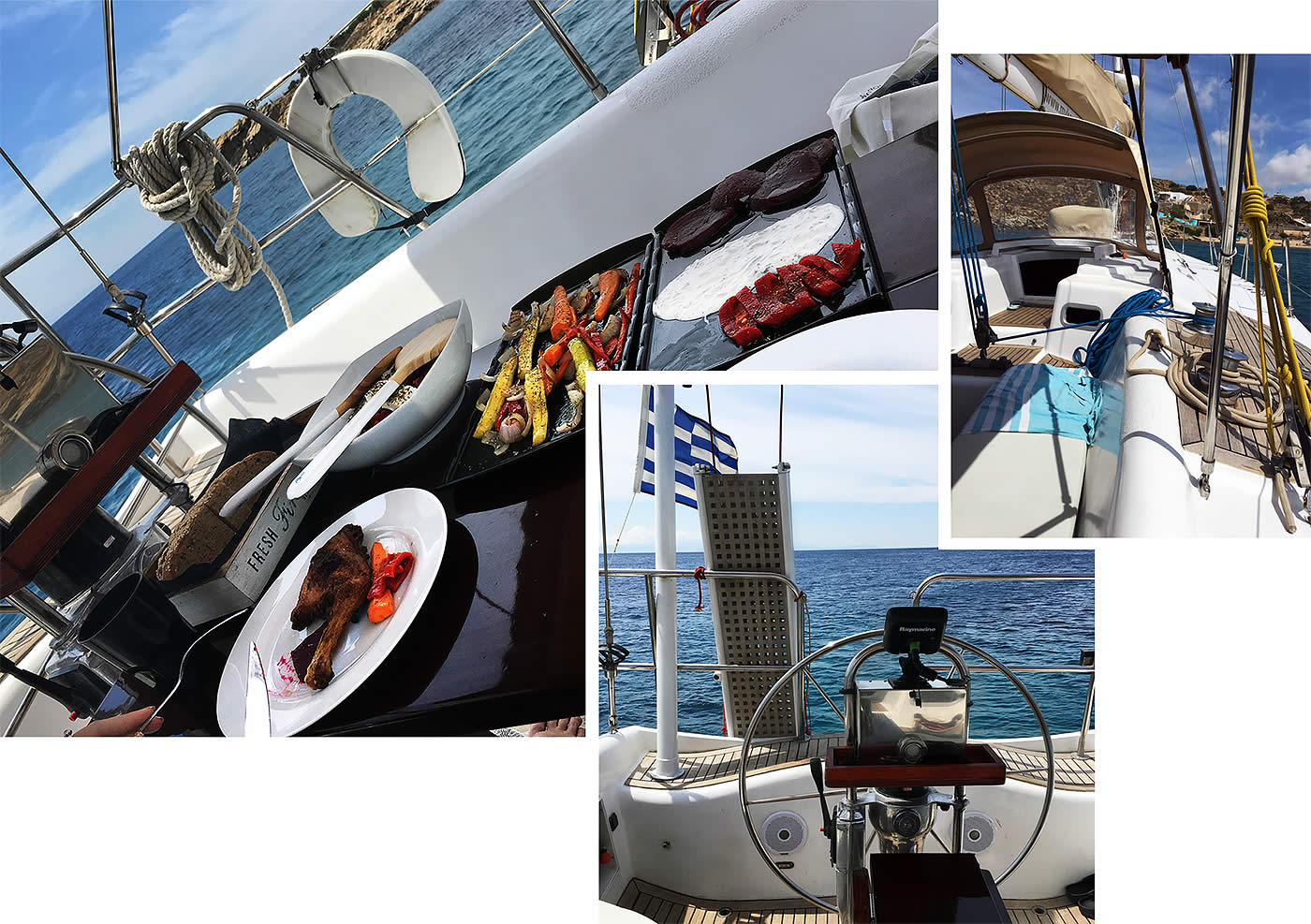 Ten days in Mykonos - Sailing