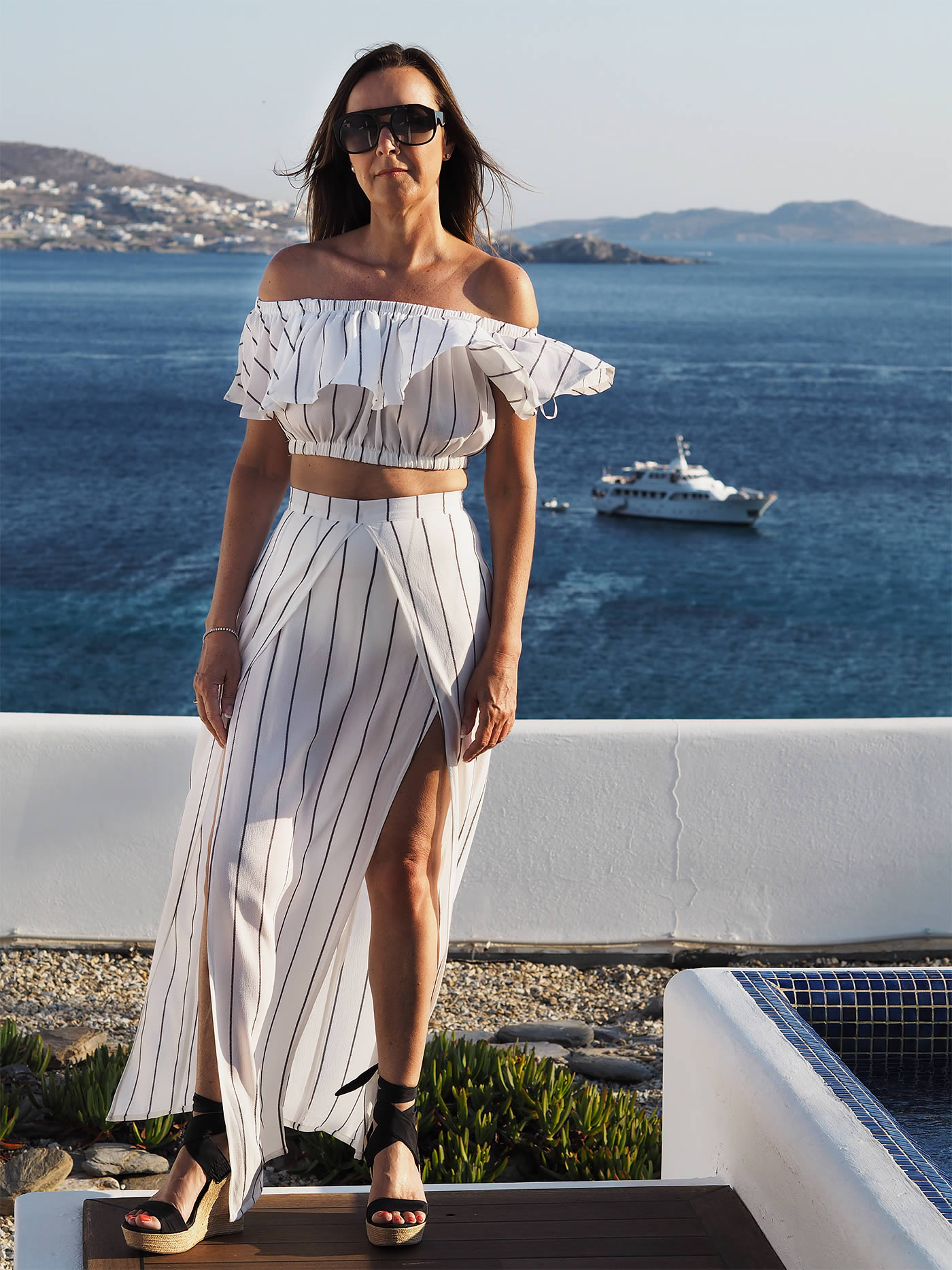 How to wear summer whites - Maxi Dress