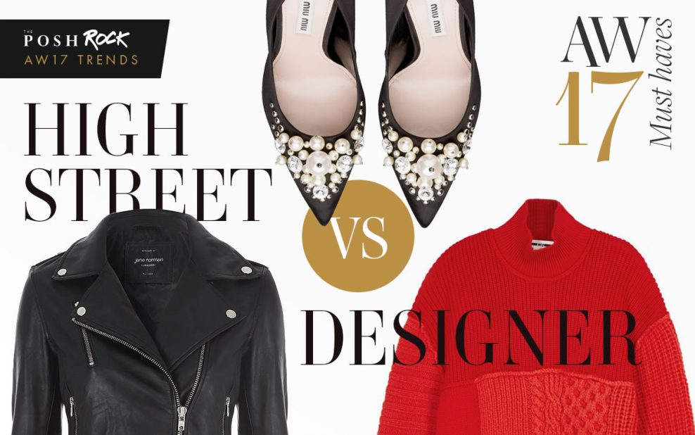 Autumn 'must haves': The High Street vs Designer