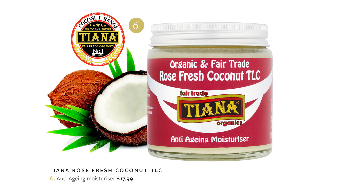 TIANA Rose Fresh Coconut TLC Anti-Ageing moisturiser