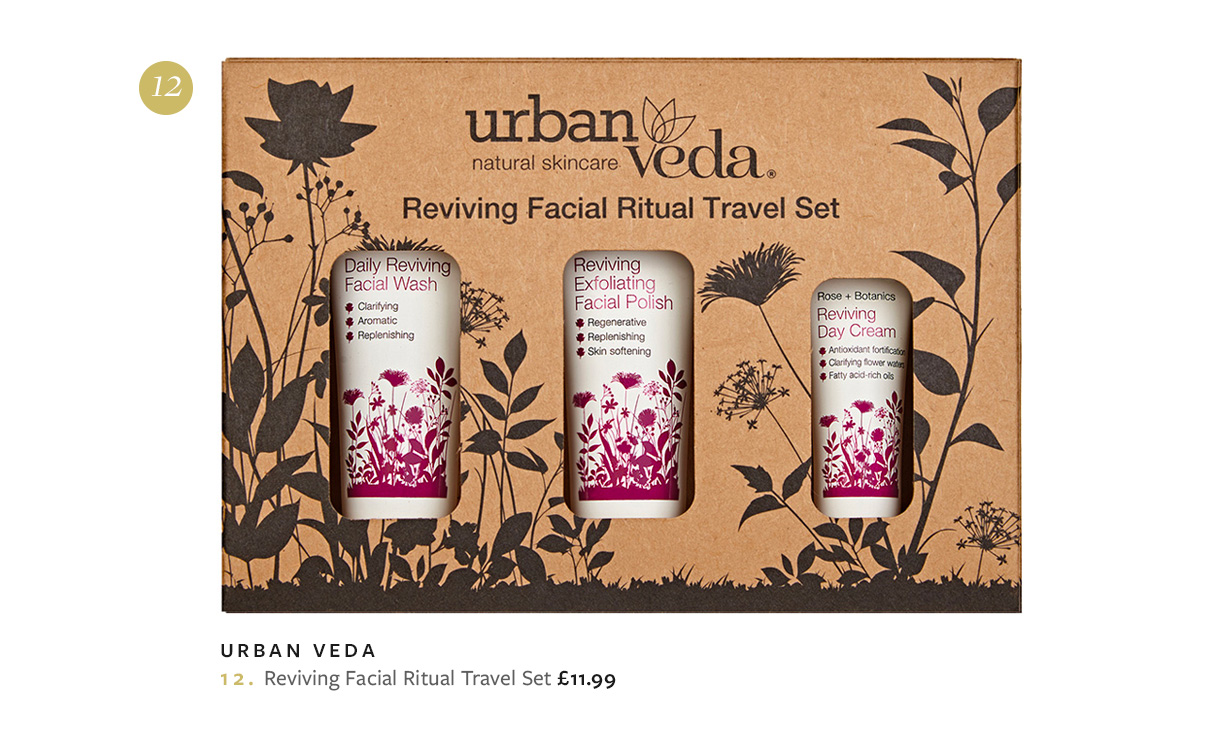 Urban Veda Reviving Facial Ritual Travel Set