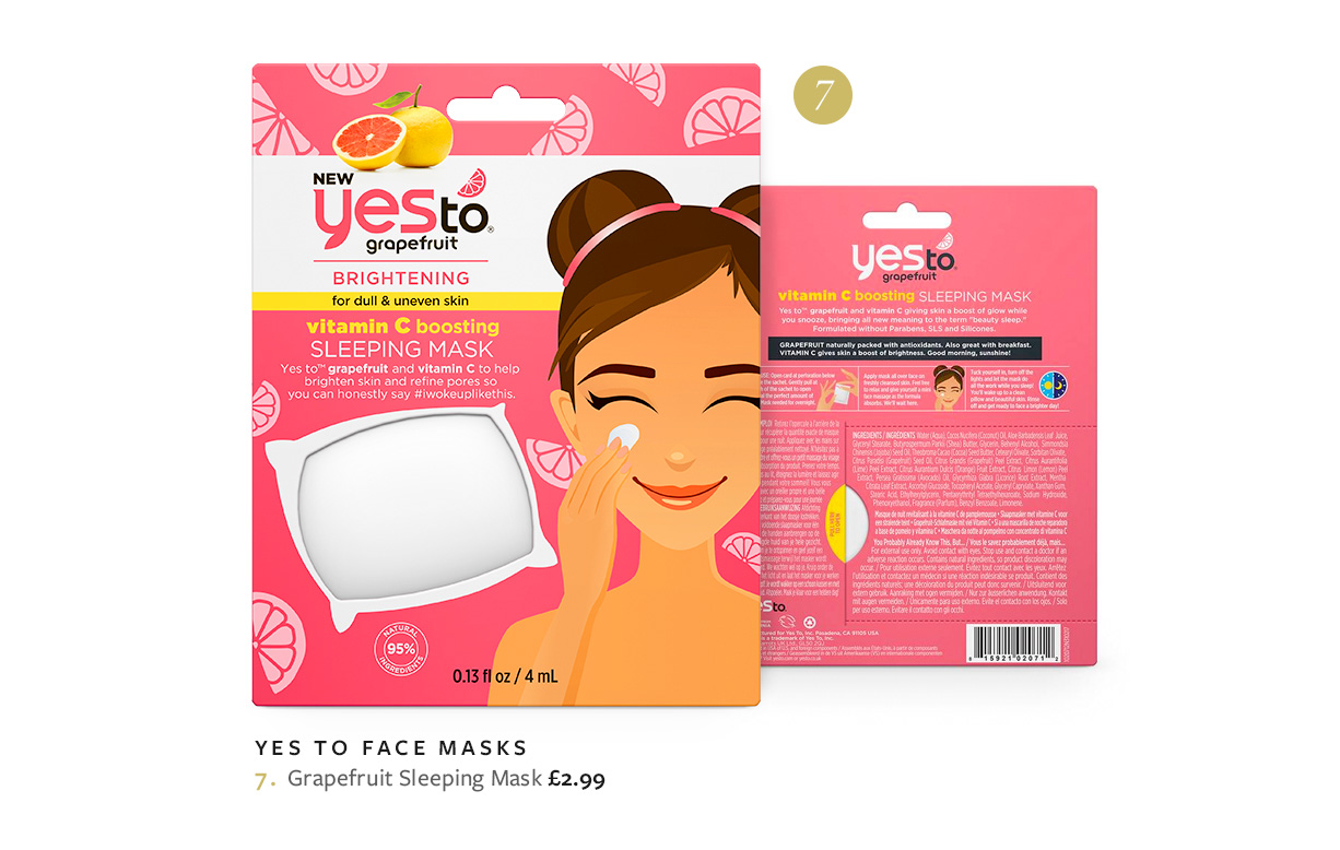 Yes To Grapefruit Sleeping Mask