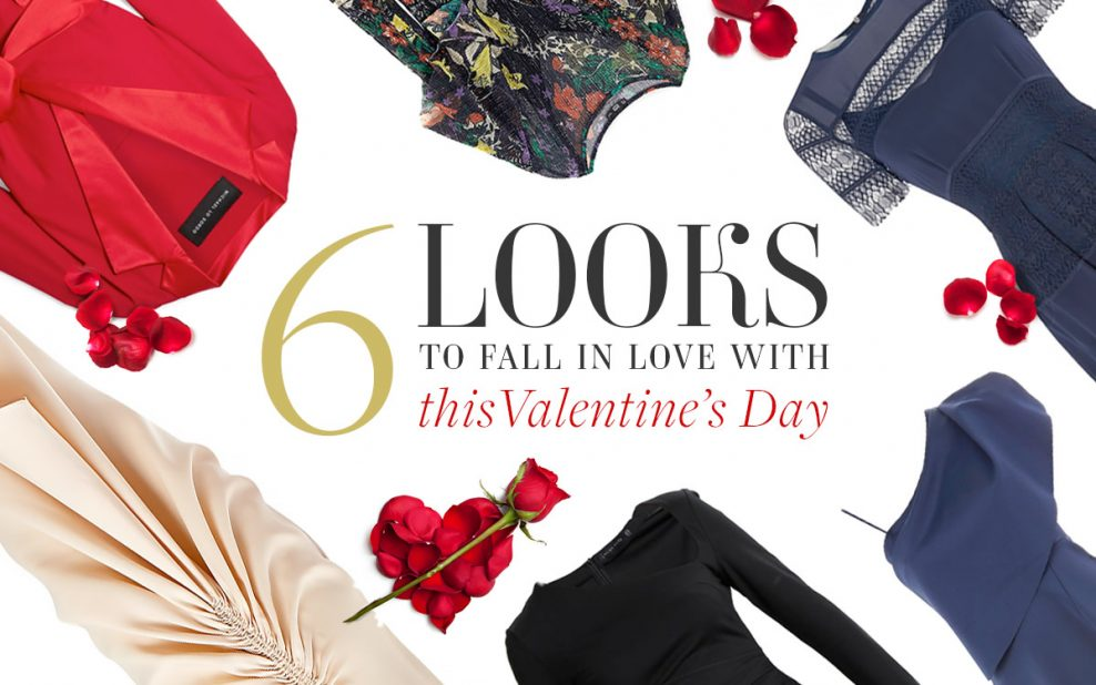 6 looks to fall in love with this Valentine's Day