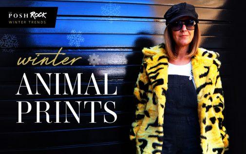 The Posh Rock Does Winter animal prints