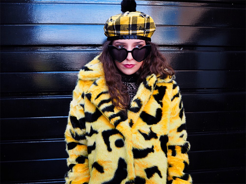 Lazy Oaf Yellow Leopard Parka - Emilie